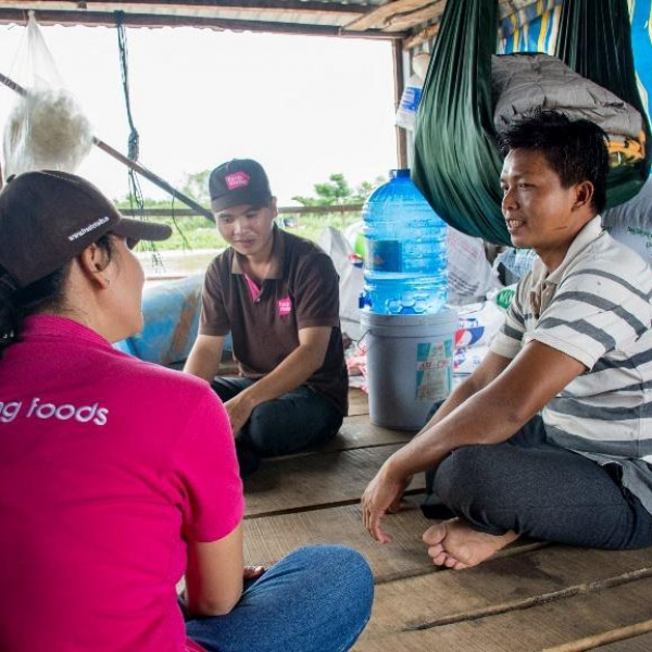 Training for Pangasius and Tilapia farmers in Vinh Long and Dong Thap provinces