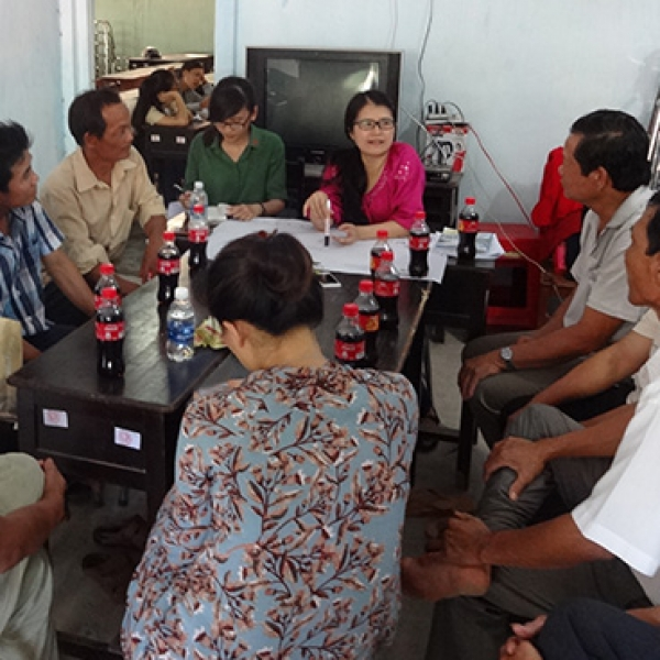 Value chain analysis of organic coconuts in Ben Tre