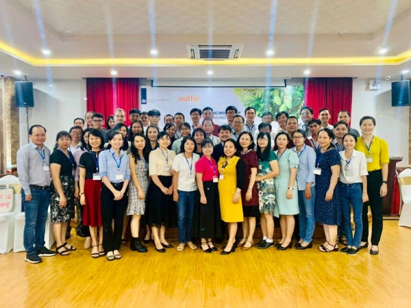""" Toward a climate resilient nursery sector and value chain in the Mekong Delta through the capacity Building in educational and government sector"""