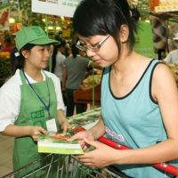 Creating market access for organic vegetables